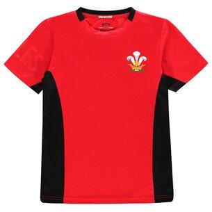 Team Rugby 2019 Poly T Shirt Junior Boys
