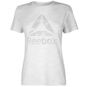 Reebok Logo T Shirt Ladies