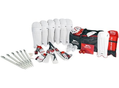 Slazenger Cricket Kit Bag Club Set Jnr 93
