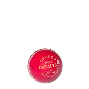 Slazenger and Moore Catalyst Cricket Ball
