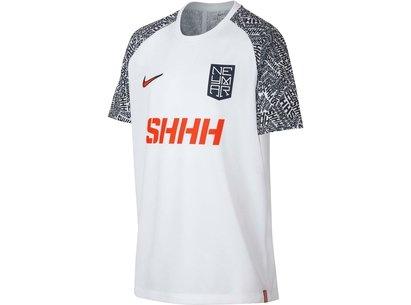 Nike Neymar Shhh Football T Shirt Junior Boys