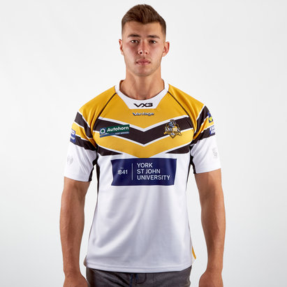 VX3 York City Knights 2019 Alternate Replica Rugby League Shirt