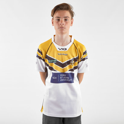 VX3 Mens York City Knights 2019 Home Replica Rugby League Shirt