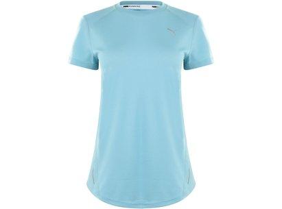 Puma Ignite Short Sleve T Shirt Ladies