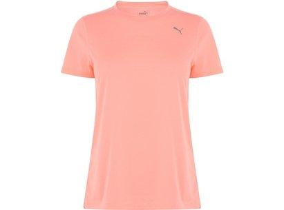 Puma Short Sleeve T Shirt Ladies