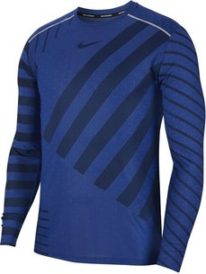 Nike Tech Knit Long Sleeve T Shirt Mens