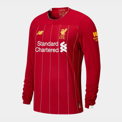 New Balance Liverpool 19/20 Home L/S Football Shirt
