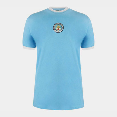 Score Draw Manchester City 1972 Home Shirt Mens