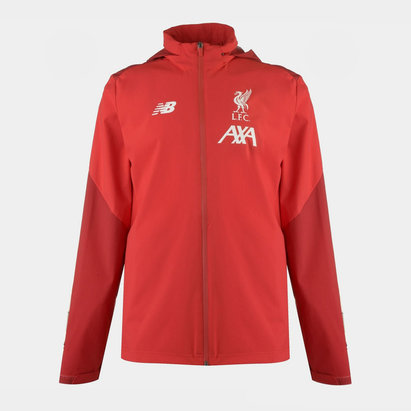 New Balance Liverpool 19/20 Full Zip Storm Football Jacket