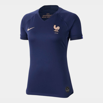 Nike France Womens World Cup 2019 Home Shirt Ladies