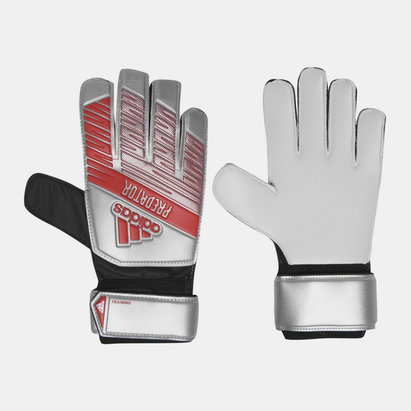 adidas Predator Training Predator Training Finger Save  Goalkeeper Gloves Silver Metallic Black