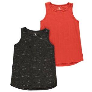 Crafted 2 Piece Jersey Vest Junior Girls