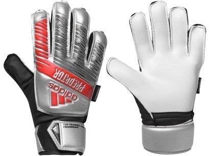 adidas Predator Training Finger Save Glove Junior Silver/Black