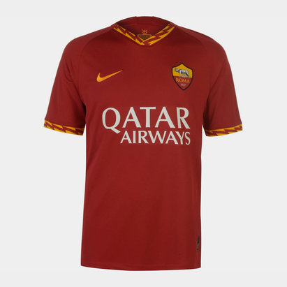 Nike AS Roma 19/20 Home S/S Football Shirt