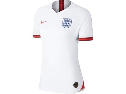 Nike England Womens World Cup 2019 Vapor Home Shirt Ladies