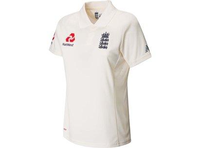 New Balance England Test Shirt 2019 Ladies