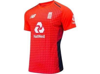 New Balance England Cricket T20 Shirt 2019 Mens