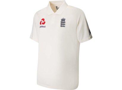 New Balance England Cricket Test Shirt 2019 Mens
