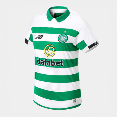 New Balance Celtic 19/20 Ladies Home S/S Football Shirt