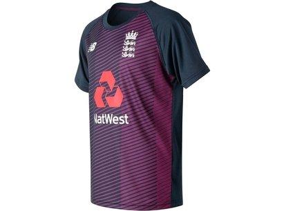 New Balance England Cricket Training T Shirt Junior
