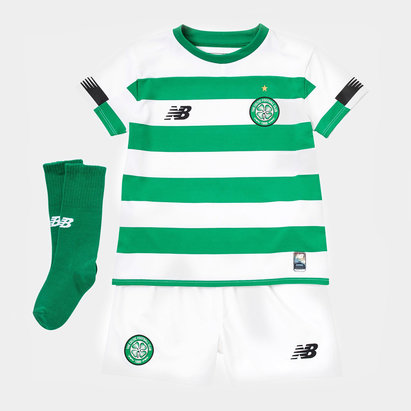 New Balance Celtic 19/20 Home Mini Kids Football Kit