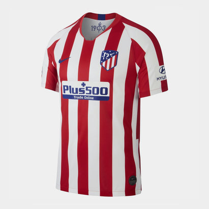 Nike Atletico Madrid 19/20 Home Replica Football Shirt