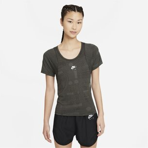 adidas Air Dri FIT Womens Short Sleeve Running Top