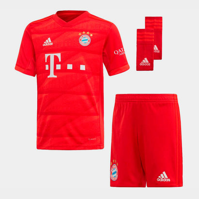 adidas FC Bayern Munich 19/20 Home Mini Kids Football Kit