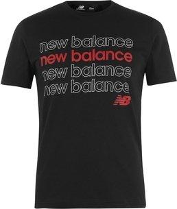 New Balance Balance Mens Repeat T Shirt