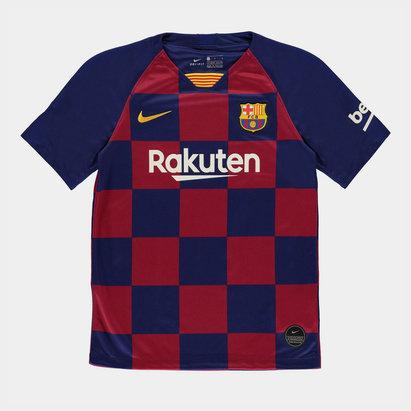 Nike FC Barcelona 19/20 Kids Home S/S Football Shirt