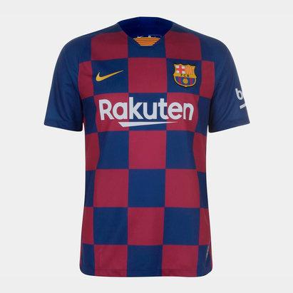 Nike FC Barcelona 19/20 Home S/S Football Shirt