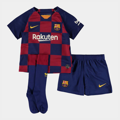 Nike FC Barcelona 19/20 Home Mini Kids Kit