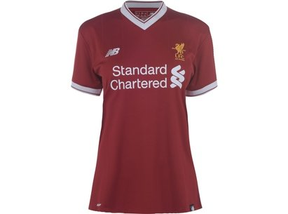 New Balance Liverpool 18 19 Home Shirt Ladies