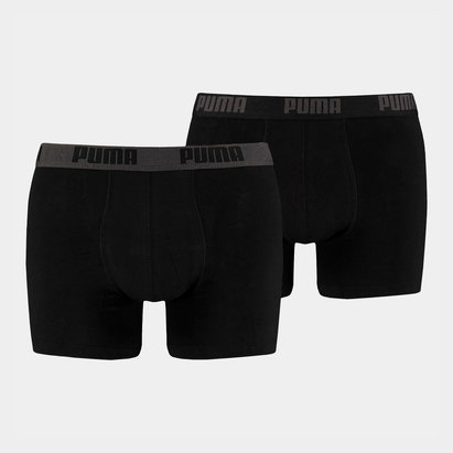Puma Sports Lifestyle 2 Pack Boxer Set