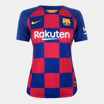 Nike Barcelona Home Shirt 2019 2020 Ladies