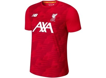 New Balance Liverpool Off Pitch Shirt 2019 2020 Junior