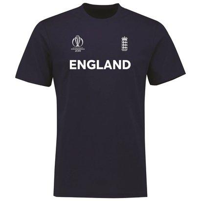 England Cricket Cotton T Shirt Mens