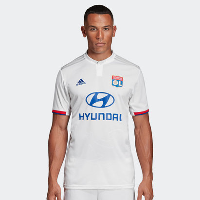 adidas Lyon 19/20 Home S/S Football Shirt