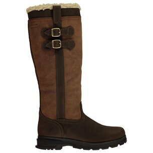 Ariat Eskdale Fur Waterproof Ladies Insulated Country Boots - Java