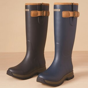 Ariat Burford Ladies Wellington Boots - Navy