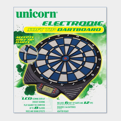 Unicorn Electronic Soft Tip Dart Board