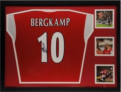 Dennis Bergkamp Signed Shirt