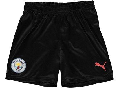 Puma Manchester City 19/20 Kids Away Football Shorts