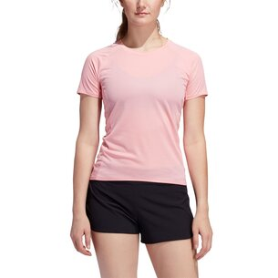 adidas 25 7 Rise Up N Run Parley T Shirt Ladies