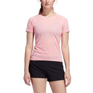 adidas 25 7 Rise Up N Run Parley T Shirt Ladies