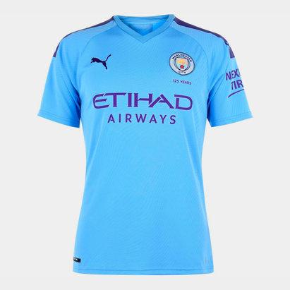 Puma Manchester City 19/20 Home S/S Football Shirt