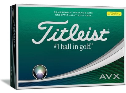 Titleist AVX 12 Pack Golf Balls