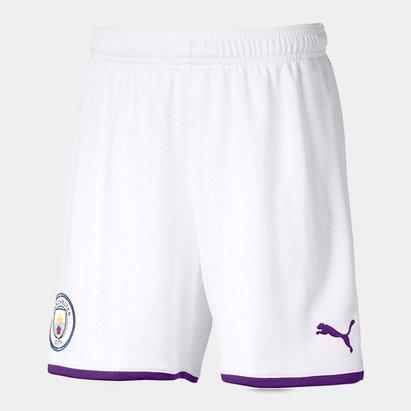 Puma Manchester City 19/20 Kids Home Football Shorts