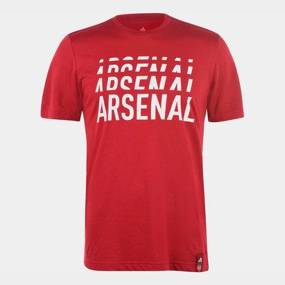 adidas Arsenal DNA T Shirt Mens