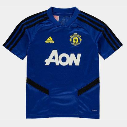 adidas Manchester United Training Shirt 2019 2020 Junior